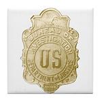 Bureau of Investigation Tile Coaster