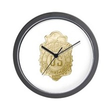 Bureau of Investigation Wall Clock