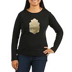 Bureau of Investigation Women's Long Sleeve Dark T