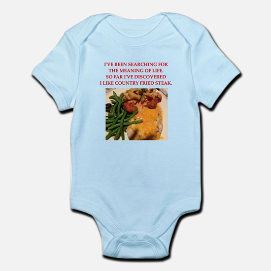 country fried steak Body Suit