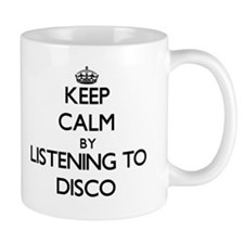 Keep calm by listening to DISCO Mugs