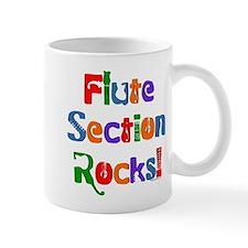 Flute Section Rocks Color Mug