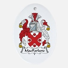 MacFarlane Oval Ornament