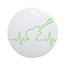 Funny Rock'n'roll Ornament (Round)