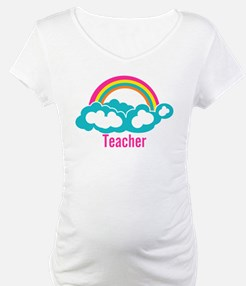 Cloud Rainbow Teacher Shirt