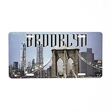 Brooklyn Aluminum License Plate