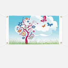 Cute Flowers Banner