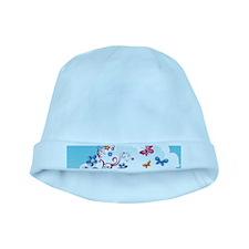 Cute Flowers baby hat