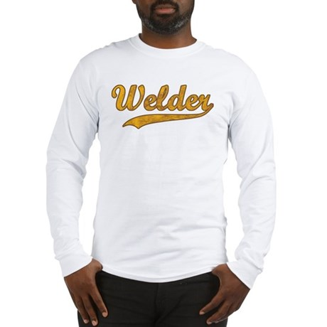 Vintage Welder Long Sleeve T-Shirt