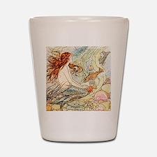 Vintage Mermaid Shot Glass