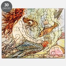 Vintage Mermaid Puzzle