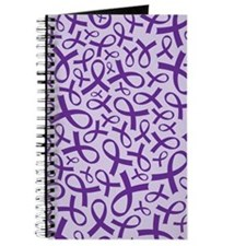 Alzheimer's Purple Ribbon Journal