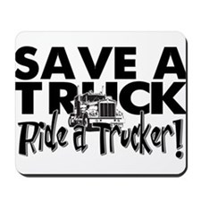 Save a Truck Mousepad