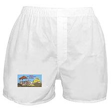 Bulldoze the Smoking Gazebo Boxer Shorts