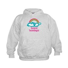 Cloud Rainbow Surgical Technologist Hoodie