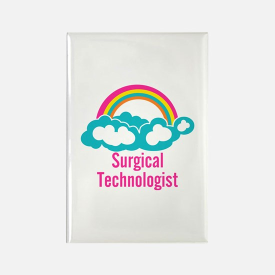 Cloud Rainbow Surgical Technologi Rectangle Magnet