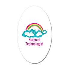 Cloud Rainbow Surgical Techn Wall Decal