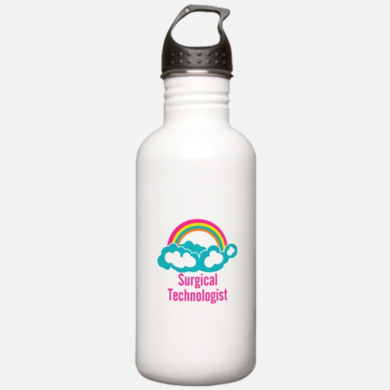 Cloud Rainbow Surgical Water Bottle