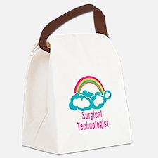 Cloud Rainbow Surgical Technologi Canvas Lunch Bag