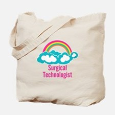 Cloud Rainbow Surgical Technologist Tote Bag