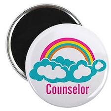 Cloud Rainbow Counselor Magnet