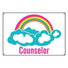 Cloud Rainbow Counselor Banner