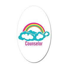 Cloud Rainbow Counselor Wall Decal