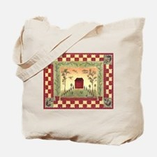Unique Homes and Tote Bag