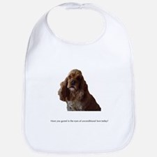 A Dog's Eyes Bib