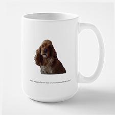A Dog's Eyes Large Mug