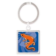 Newt Square Keychain