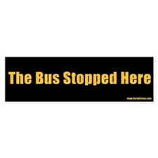 The Bus Stopped Here