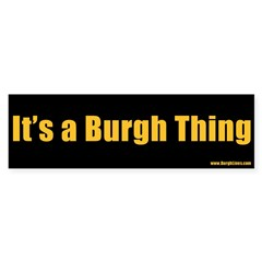 It's a Burgh Thing