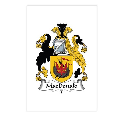 MacDonald (of the Isles) Postcards (Package of 8)