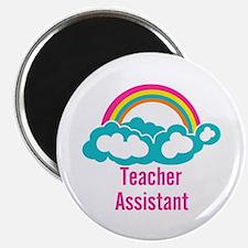 """Teacher's Assistant Cloud R 2.25"""" Magnet (10 pack)"""