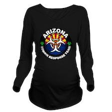 Arizona Zombie Respo Long Sleeve Maternity T-Shirt