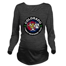 Colorado Zombie Resp Long Sleeve Maternity T-Shirt