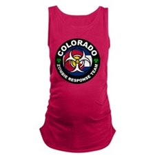 Colorado Zombie Response Team W Maternity Tank Top