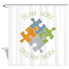 Dream Work Shower Curtain