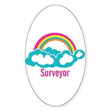 Rainbow Cloud Surveyor Decal