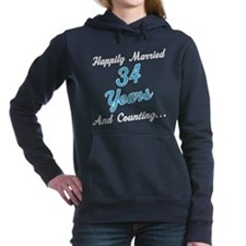 34 Year anniversary Women's Hooded Sweatshirt