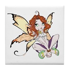 Gypsy Faerie Tile Coaster