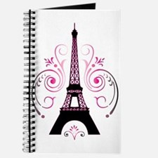 Eiffel Tower Gradient Swirl Journal