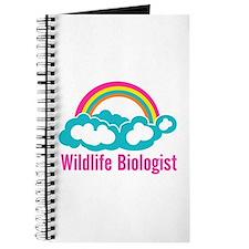 Wildlife Biologist Rainbow Cloud Journal