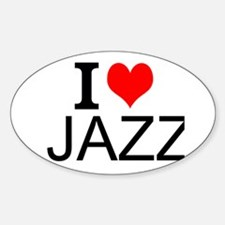 I Love Jazz Decal
