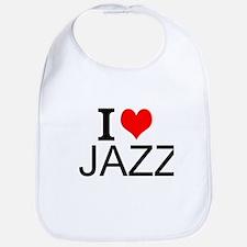 I Love Jazz Bib