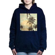 Pretty Serene Sunset and Palm Trees Scene Women's