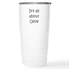 Cute Olive Travel Mug