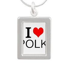 I Love Polka Necklaces