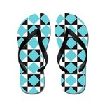 Geometric Checkerboard Flip Flops
